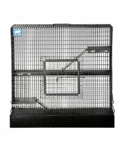 Giant Rodent Cage 12 x 24 x 24 Onyx Black Powdercoat