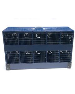 10 Compartment Chinchilla Transport Cage