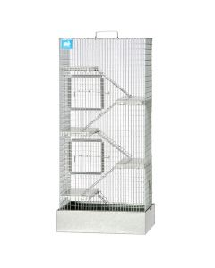 6 Level Deluxe Rat Tower, 12 x 16 x 36 Galvanized