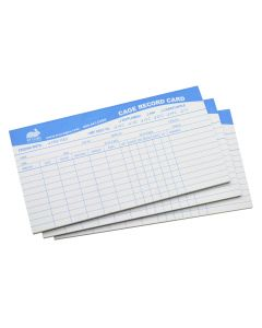 CAGE RECORD BLANK, PAD OF 25