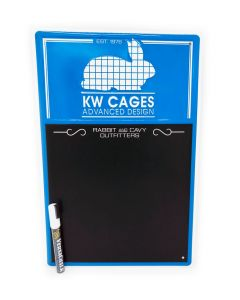 KW Cages Chalkboard w/Marker