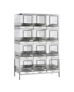 12 HOLE APARTMENT CAGE