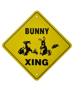 """BUNNY CROSSING"" SIGN"