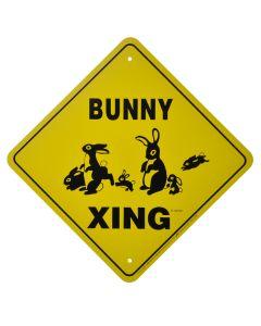 """BUNNY CROSSING"" SIGN"