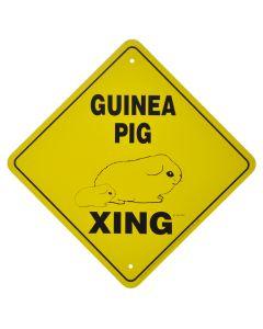 """GUINEA PIG CROSSING"" SIGN"