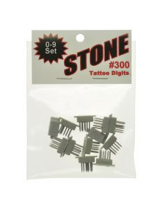 STONE TATTOO NUMERIC FIGURES 0-9 (.300)