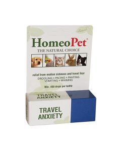 Homeo Pet Travel Anxiety, 15 ml