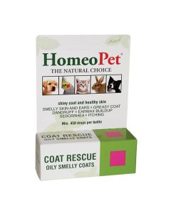 Homeo Pet Coat Rescue, 15 ml