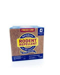 Fresh Cab Botanical Rodent Repellent 4/pk