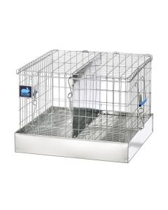 16 X 16 X 12 TRANSPORT CAGE, 2 COMPS. (8X16)