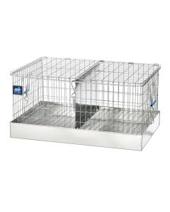 24 X 16 X 12 TRANSPORT CAGE, 2 COMPS. (12X16)