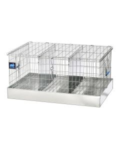 24 X 16 X 12 TRANSPORT CAGE, 3 COMPS. (8X16)