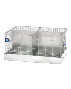 24 X 16 X 12 TRANSPORT CAGE, 4 COMPS. (8X12)