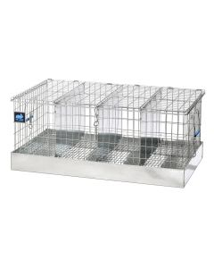 28 X 16 X 12 TRANSPORT CAGE, 4 COMPS. (7X16)