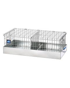 24 x 12 x 8 Cavy Transport Cage, 2 Comps.