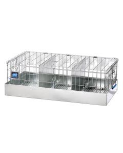 24 x 12 x 8 Cavy Transport Cage, 3 Comps.