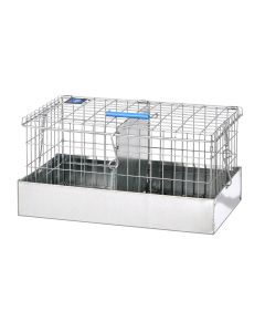 16 X 9 X 8 GUINEA PIG TRANSPORT, 2 COMPS.