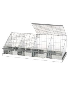 CAVY COLLAPSIBLE JUDGING CAGE, 4 COMPS (8X12)
