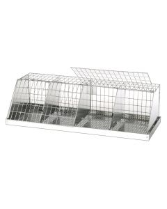 DWARF COLLAPSIBLE JUDGING CAGE, 4 COMPS (8X12)