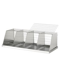 X-LARGE COLLAPSIBLE JUDGING CAGE, 4 COMPS.