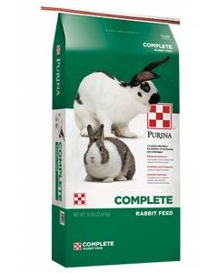 Purina Complete Rabbit Feed, 50 lb.